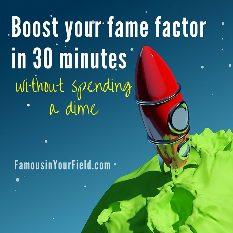 Boost your fame factor with podcast interviews